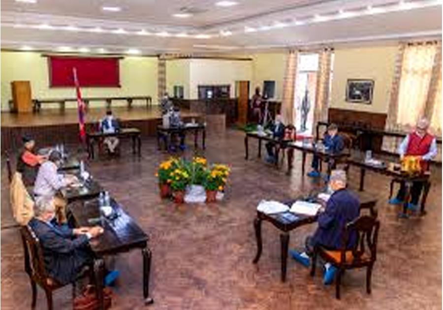 नेकपा सचिवालय बैठक बालुवाटारमा सर्यो