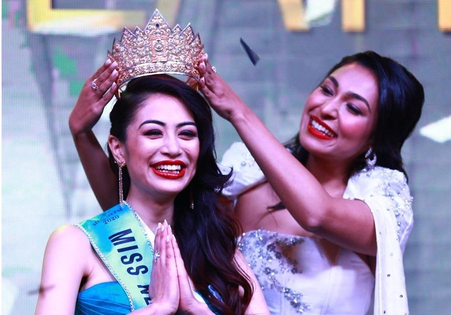 नम्रता श्रेष्ठले जितिन् ' मिस नेपाल वर्ल्ड २०२०' को उपाधी