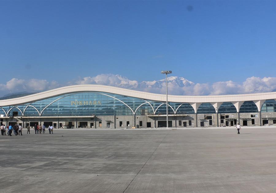 पोखरा अन्तरराष्ट्रिय विमानस्थलको निर्माण कार्य ६ महिनाभित्र सकिने