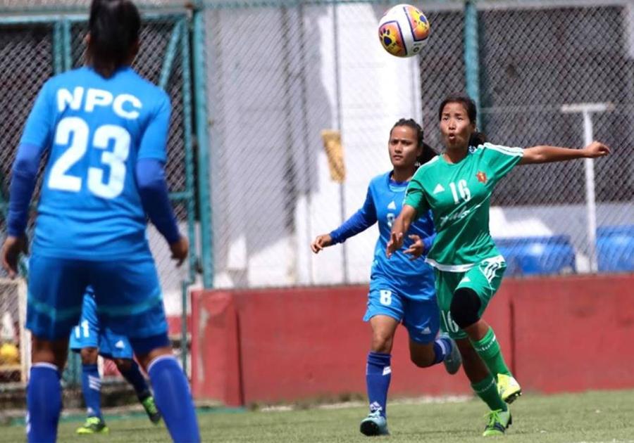 राष्ट्रिय महिला लिग फुटबल ७ गतेबाट सुरु हुने