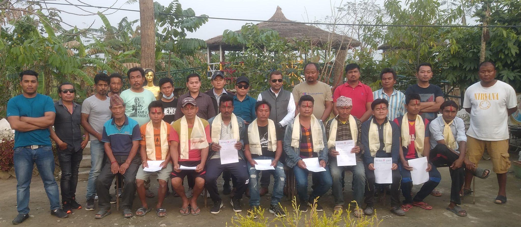 बस्नेतको प्रमुख आतिथ्यत्यमा नेपाल आदिवासी जनजाति संघ वडा कमिटि विस्तार
