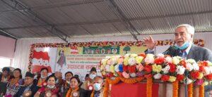 नेपाली काग्रेंसका सभापति देउवा भन्छन् :आफुँ चाहेर पनि प्रधानमन्त्री बन्न सक्दिन