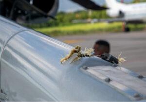 कोलोम्बियाका राष्ट्रपति चढेको हेलिकप्टरमा गोली होनियाे