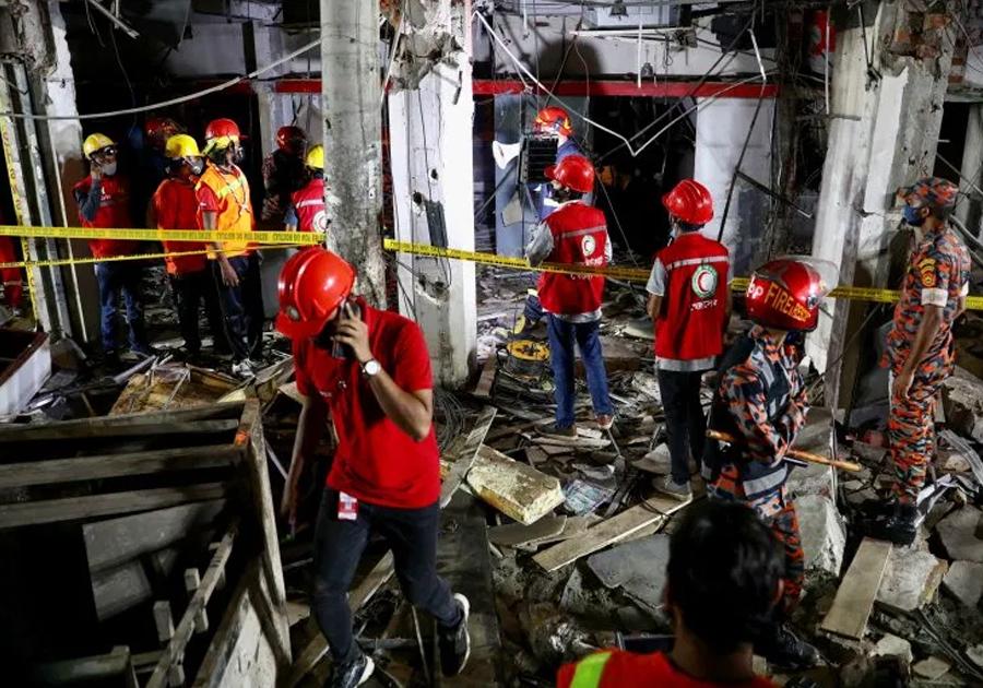 बंगलादेशमा बम बिस्फोट हुँदा ७ जनाको मृत्यु, ५० घाइते