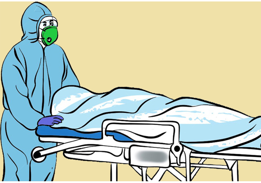 दुई संक्रमितको वीपी प्रतिष्ठानमा मृत्यु