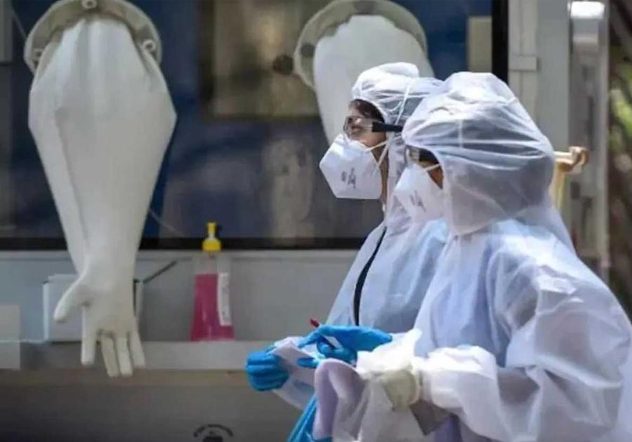 भारतमा नयाँ संक्रमित साढे २ महिनायताकै कम