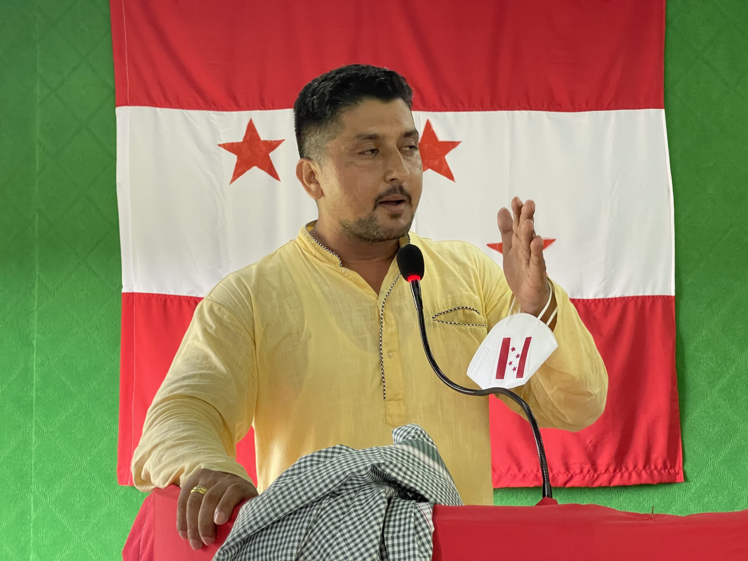 नेपाली काङ्ग्रेस रामधुनी नगर सभापतिमा सुदिप अधिकारीको प्यानलको उमेद्धारी घोषणा
