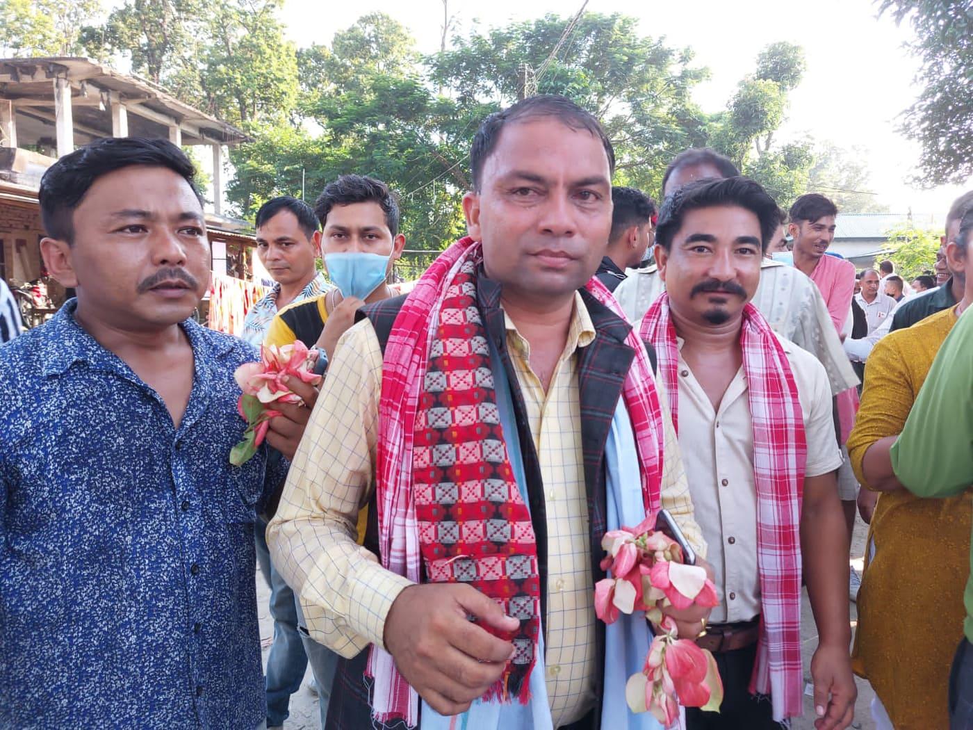 नेपाली काङ्ग्रेस बराहक्षेत्रमा रमेश कार्की विजयी