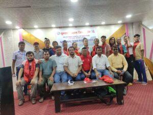 इटहरीमा महिला राष्ट्रिय क्रिकेट टोलीको एक हप्ता लामो प्रशिक्षण सम्पन्न